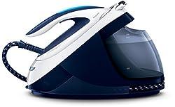 Philips GC9620/20 Dampfbügelstation PerfectCare Elite (2700 W, Optimal Temp, 6,5 bar, 450 g/Min. Dampfstoß) blau