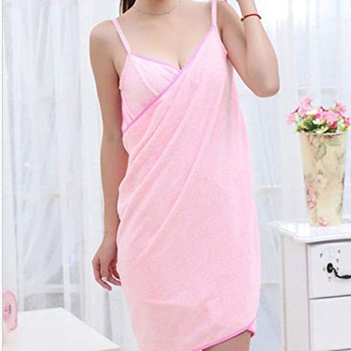 Home Textile Handtuch Frauen Roben Bad Wearable Handtuch Kleid Mädchen Frauen Damen Lady Fast Drying Beach Spa Magische Nachtwäsche Schlafen-Pink