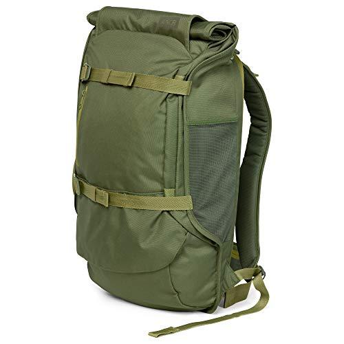 AEVOR Travel Pack - Handgepäck Rucksack, erweiterbar, ergonomisch, Rolltop System - Pine Green - Olive