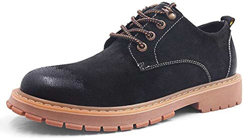 f6a20f06336 Shukun Men's boots Boots Men'S Retro color Martin Casual ngaaqo6017 ...