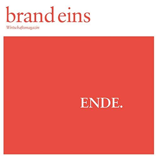 brand eins audio: Ende Titelbild