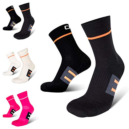 COMPRESSION FOR ATHLETES, Calcetines de Rendimiento, Ajuste Pomodidad Superior, Producidos en la UE.