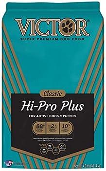victor dog food puppy