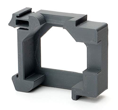 Hutschienenhalter/Montageadapter für Shelly auf DIN 35mm Hutschiene (für Shelly Dimmer 1/2, einzeln)