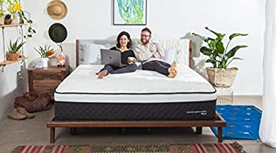 """Nest Bedding Alexander Signature Hybrid 13.5"""" Copper Infused Luxury Mattress with Thermic Phase Change Cooling Fabric"""