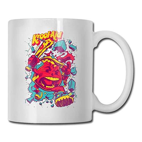 Ko-Ol Aid-Man Becher, 325 ml, lustiger Kaffeebecher, einzigartiger Geburtstag für Frauen, Männer
