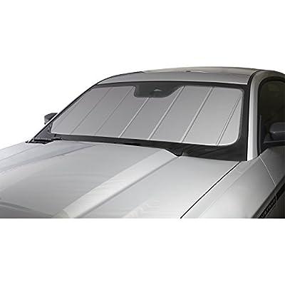 Covercraft UVS100 Custom Sunscreen | UV11310SV | Fits Select Chevrolet Silverado / GMC Sierra Models with Lane Departure Warning, Silver