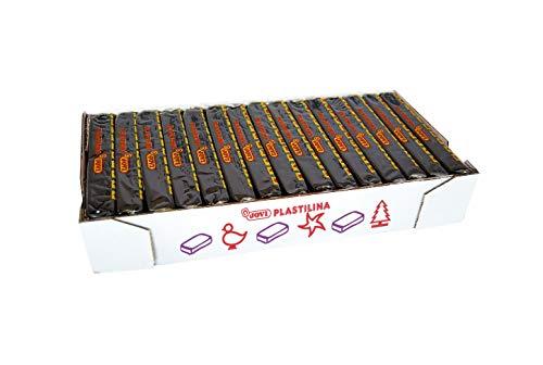 Jovi - Caja de plastilina, 15 pastillas 150 g, color negro (7115) , color/modelo surtido