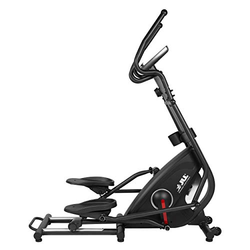 JLL CT500 Elliptical Cross Trainer, 2021 Version Magnetic Resistance, Adjustable Resistance, 7KG Flywheel, Tablet Holder, Heart Rate Sensor, 12 Months Warranty