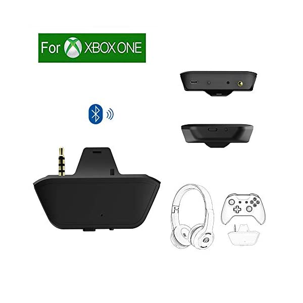 Uberwith Bluetooth Xbox one Transmitter Dongle Stereo Headset Audio Adapter for Xbox...