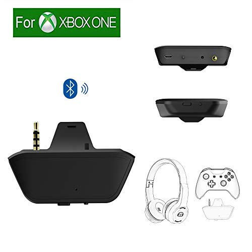 Uberwith Bluetooth Xbox One Stereo Headset Adapter For Xbox One X/S Controller Audio Transmitter Compatible Bluetooth Headphone Speakers With Low Latency - Not Support Airpods