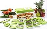 Bluewhale Advance 12 in 1 Multi-Purpose Vegetable & Fruit Grater, Slicer, Cutter, Vegetable & Fruit...