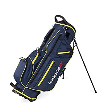 Founders Club Golf Stand Bag for Walking Carrying 14 Way Organizer Top Shaft Lock  Blue