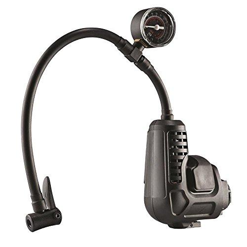 Black+Decker Multievo Multifunktionswerkzeug Kompressor-Kopf (mit eingebauter Druckanzeige, Zubehörhalter direkt am Gerät, zum Aufpumpen von Reifen und Bällen, zur Drucküberprüfung) MTNF9