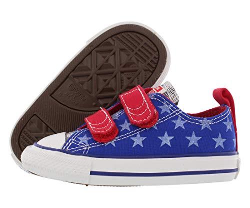 Zapatillas CONVERSE SIMPLE SLIP OX - azul/rojo 742877, color, talla 10