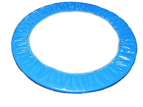 awshop24 Trampolin Randabdeckung blau 100 cm Fitness Gesundheitstrampolin Minitrampolin Fun Jumping Rund 1m …