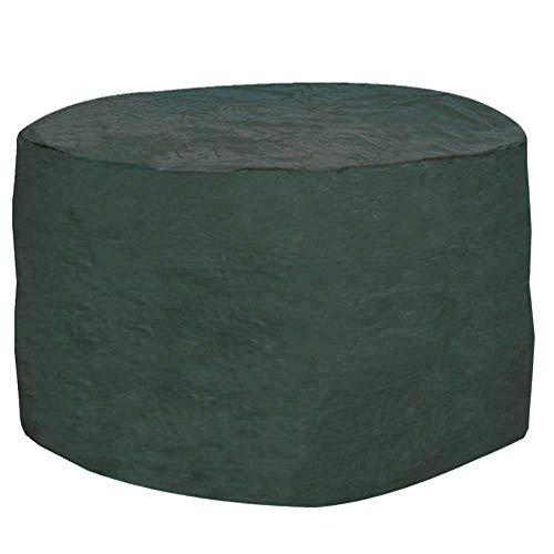 6-8 Seater Round Furniture Set Cover Waterproof Polyethylene Green