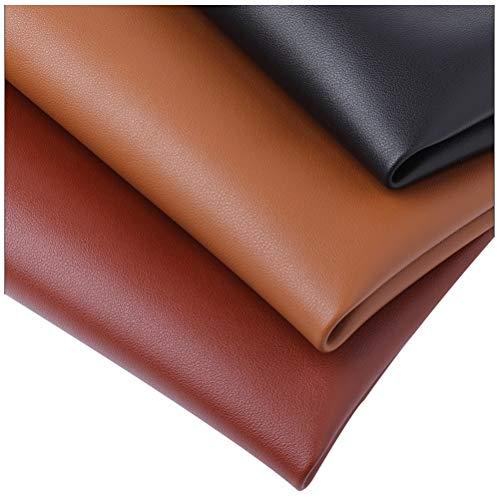 SSYBDUAN Möbelstoff Premium Bezugsstoff Zum Kunstledergewebe, Strapazierfähiges PU-Ledergewebe, Verdickt um 1,8 Mm, Sofa-Stoff Nachttisch Hardcover-Stoff Kunstleder (Color : 39#)