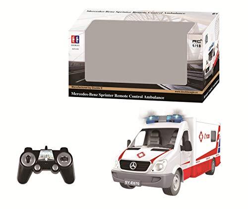 Double Eagle RC Ambulancia (Bat+CARG)