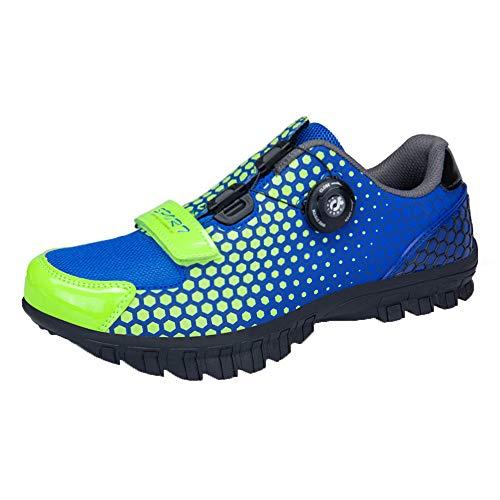 Shoes Zapatos de MTB, Hebilla Bicicleta los Hombres del cordón de Zapatos...