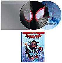 The Ultimate Fresh Spidey-Verse: Spider-Man Into The Spider-Verse + Limited Collector's Edition Spider-Man: Into the Spider-Verse (Original Motion Picture Soundtrack) Picture Disc 2 Item Bundle
