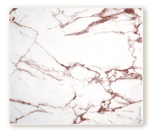 Modern Twist Placemat 100% Food-Grade Silicone, Waterproof and Reusable, Marble - Brick