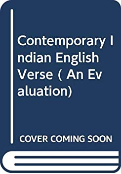 Hardcover Contemporary Indian English Verse ( An Evaluation) Book