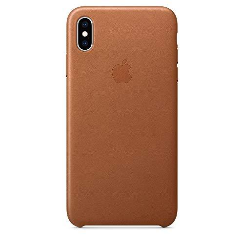 Apple iPhone XS Maxレザーケース - サドルブラウン