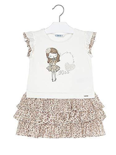 Mayoral, Vestido para niña - 3945, Beige