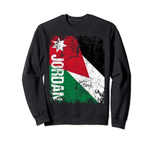 JORDAN Big Flag Vintage Distressed JORDAN Sweatshirt