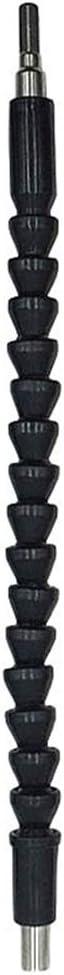 xinyijiayi Electronics Drill 295mm Flexible Shaft Extension Screwdriver Electronic Drill Bit Holder Link Rod Black