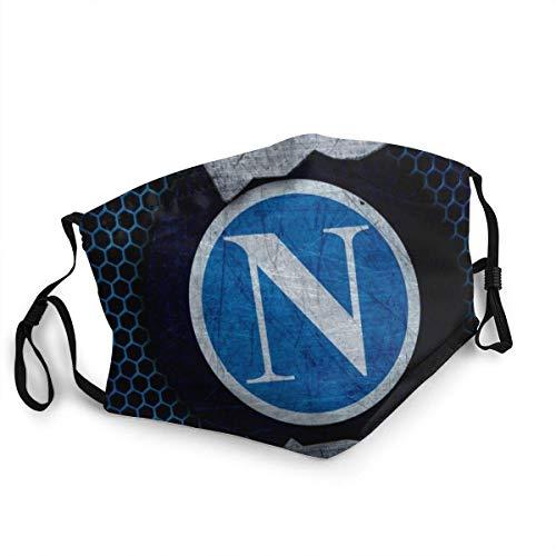 SSC Napoli,Mundschutz,Anti Wind Gesichtsdekorationen,Face Scarf,Unisex Stirnband,Wiederverwendbare Staubdichte