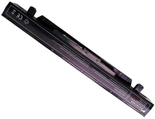 YASI MFG 15V 48Wh 3200mAh Laptop Batería A41N1424 para ASUS GL GL552 GL552J GL552JX GL552V GL552VW ROG GL552 GL552J GL552JX GL552V GL552VW ZX ZX50 ZX50J ZX50JX Batería [Li-ion Negro]