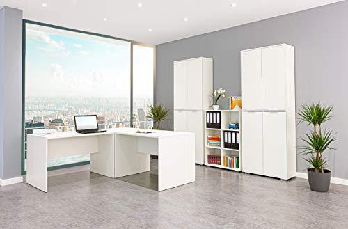 Möbel Pracht Bürozimmer, Büromöbel, Schreibtisch, Aktenschrank und Regal aus der Serie mutatio...