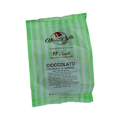 ODC MADE IN ITALY Kit mit 100 Kapseln Schokoladengeschmack Kompatibel mit NESPRESSO Kaffeemaschinen.