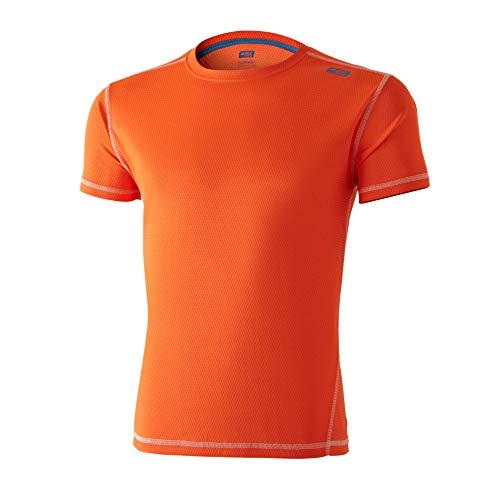 42K Running - Camiseta técnica 42K Lunar Fluor Orange