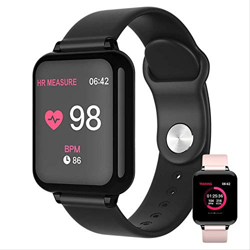 RTGFS Smart Watch da Uomo, Impermeabile, cardiofrequenzimetro, Pressione sanguigna, Orologio Sportivo da Donna