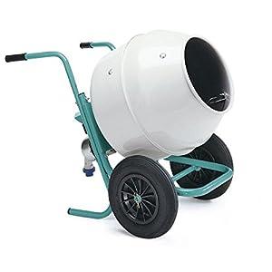 Imer–Hormigonera carretilla 0.3kW cubeta acero–rollbeta
