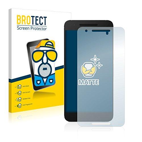 BROTECT 2X Entspiegelungs-Schutzfolie kompatibel mit Huawei Nexus 6P Bildschirmschutz-Folie Matt, Anti-Reflex, Anti-Fingerprint