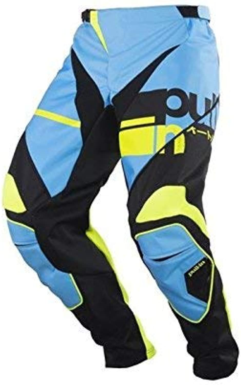 Pull-in Race Motocross Pants 2018 Sky Light bluee Black