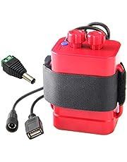 NOWON DIY 6 x 18650 pudełko do przechowywania baterii USB 12 V zasilacz do routera LED telefonu