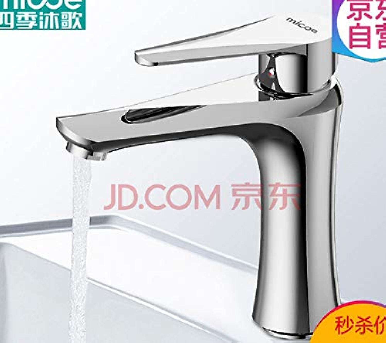 Becken Wasserhahn Bad Wasserhahn hei und kalt Kupfer Bad Waschbecken Bad Waschbecken Wasserhahn