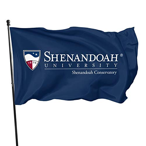 Ali Yee Shenandoah University Logo 3x5 Feet Flag Outdoor Decorations Garden Farmhouse Yard Sign Banner,Vivid Color and Uv Fade Resistant with Grommets