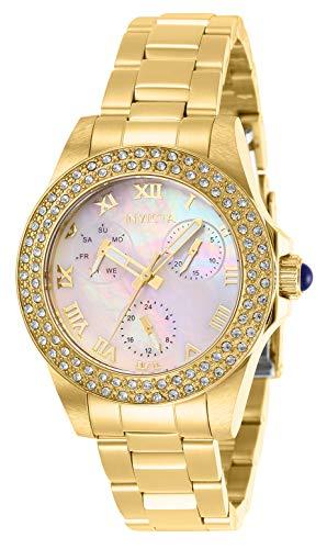 Invicta 28481 Angel Reloj para Mujer acero inoxidable Cuarzo Esfera madre perla