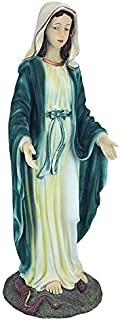 our lady of immaculate conception statue