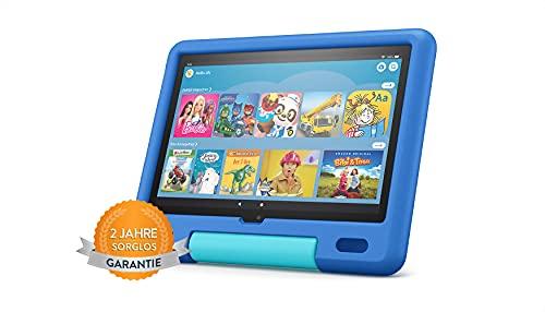 Produktbild von Das neue Fire HD 10 Kids-Tablet│25,6 cm (10,1 Zoll) großes Full-HD-Display (1080p), 32 GB, kindgerechte Hülle in Himmelblau | Ab dem Vorschulalter