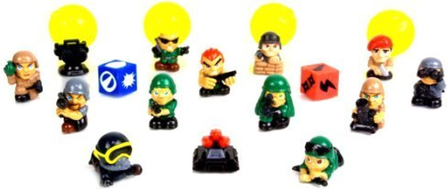 Blip Squinkies Boys Bubble Series 6  Commando Force (16 Piece) by Squinkies