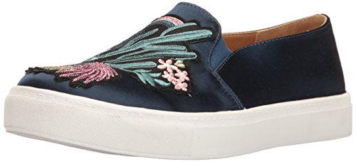 Dirty Laundry by Chinese Laundry Women's Joon Fashion Sneaker, Navy Satin, 7.5 M US