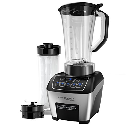 BLACK+DECKER FusionBlade Blender with Digital Controls, Stainless Steel, BL6010