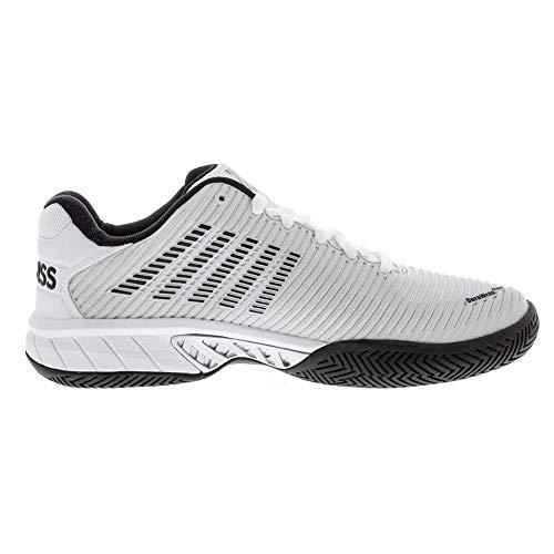 Product Image 4: K-Swiss Men's Hypercourt Express 2 Tennis Shoe (Barley Blue/White/Black, 10)